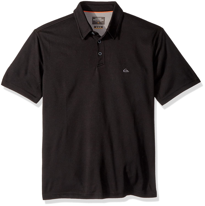 Quiksilver Waterman Mens Water 2 Knit Polo Shirt