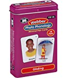 Super Duper Publications Webber Photo Phonology Gliding Minimal Pair Card Deck Educational Learning Resource for Children
