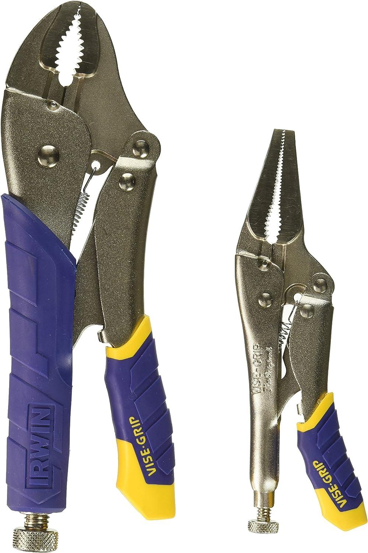 Irwin Industrial Tool Long Nose Locking Pliers