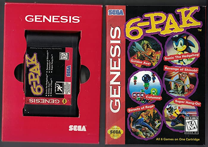 Sega Genesis 6-Pak