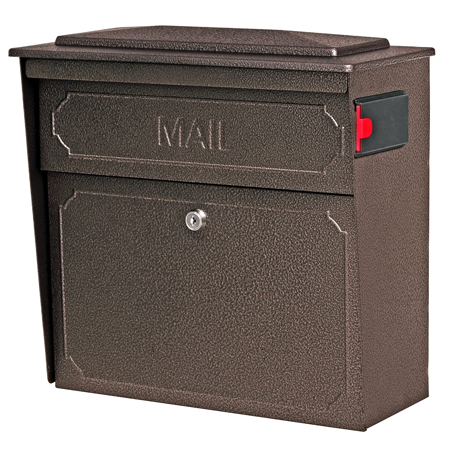 Mail Boss 7174 Townhouse Locking Wall Mount Mailbox