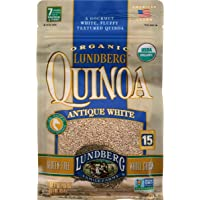 Lundberg Family Farms Organic Quinoa, Antique White, 16 Ounce (Pack of 1)