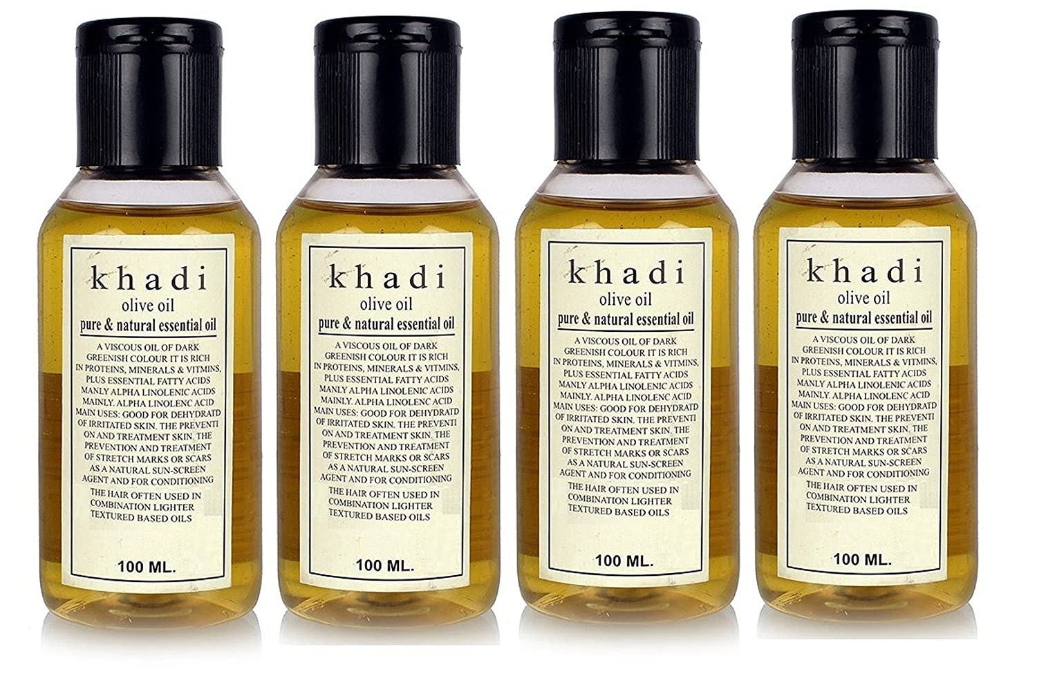 Buy Khadi Olive oil Pure & Natural Essential oil 400ML