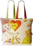 Kanvas Katha Women's Tote Bag (Ecru) (Pack of 2) (KKCAMZSS16038-KKCAMZSS16039)