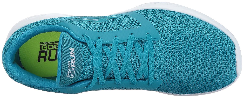 Skechers Women's Go Run 600-15061 Walking Shoe B01MZ9T10W 7.5 B(M) US Turquoise