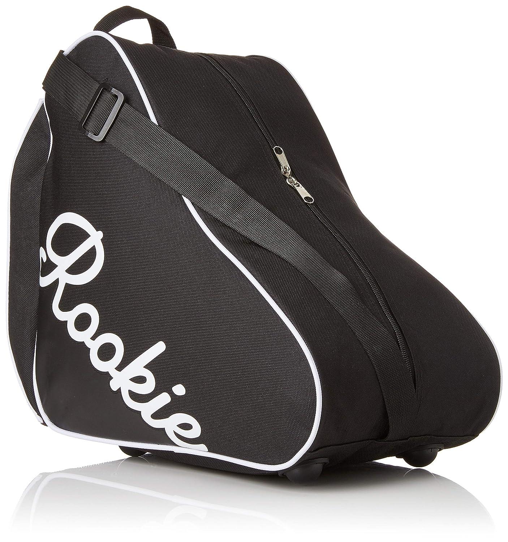 Rookie Logo Mochila para Patines, Unisex Adulto, Negro, 25 RKE-BAG-0004