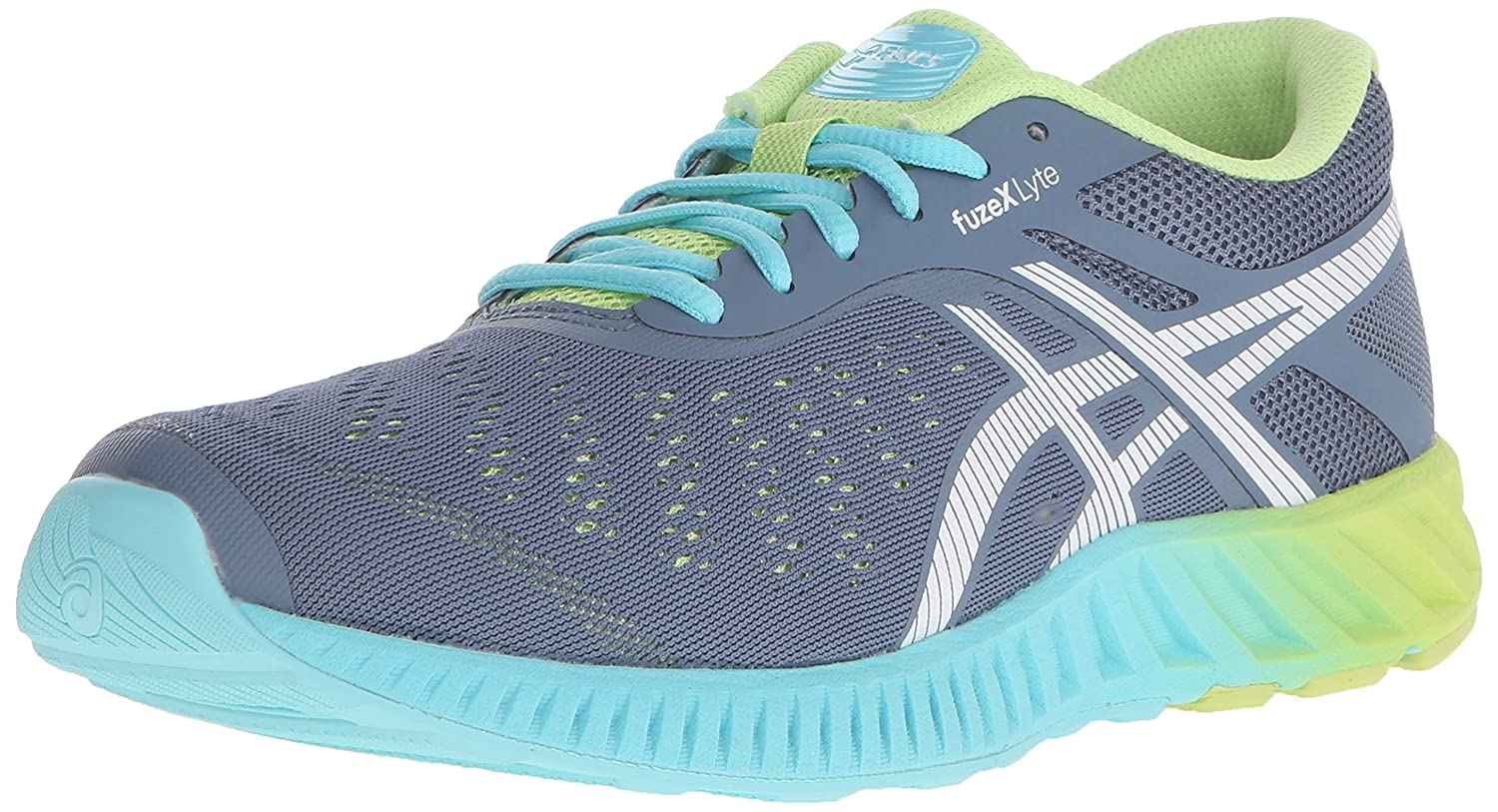 ASICS Women's fuzeX Lyte Running Shoe B00YB0L126 12.5 B(M) US|Blue Mirage/White/Sharp Green
