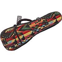 Music First Cotton Woven The Native Vintage Style Ukulele case Ukulele Bag Ukulele gig Bag (21 inch Soprano, The Native)