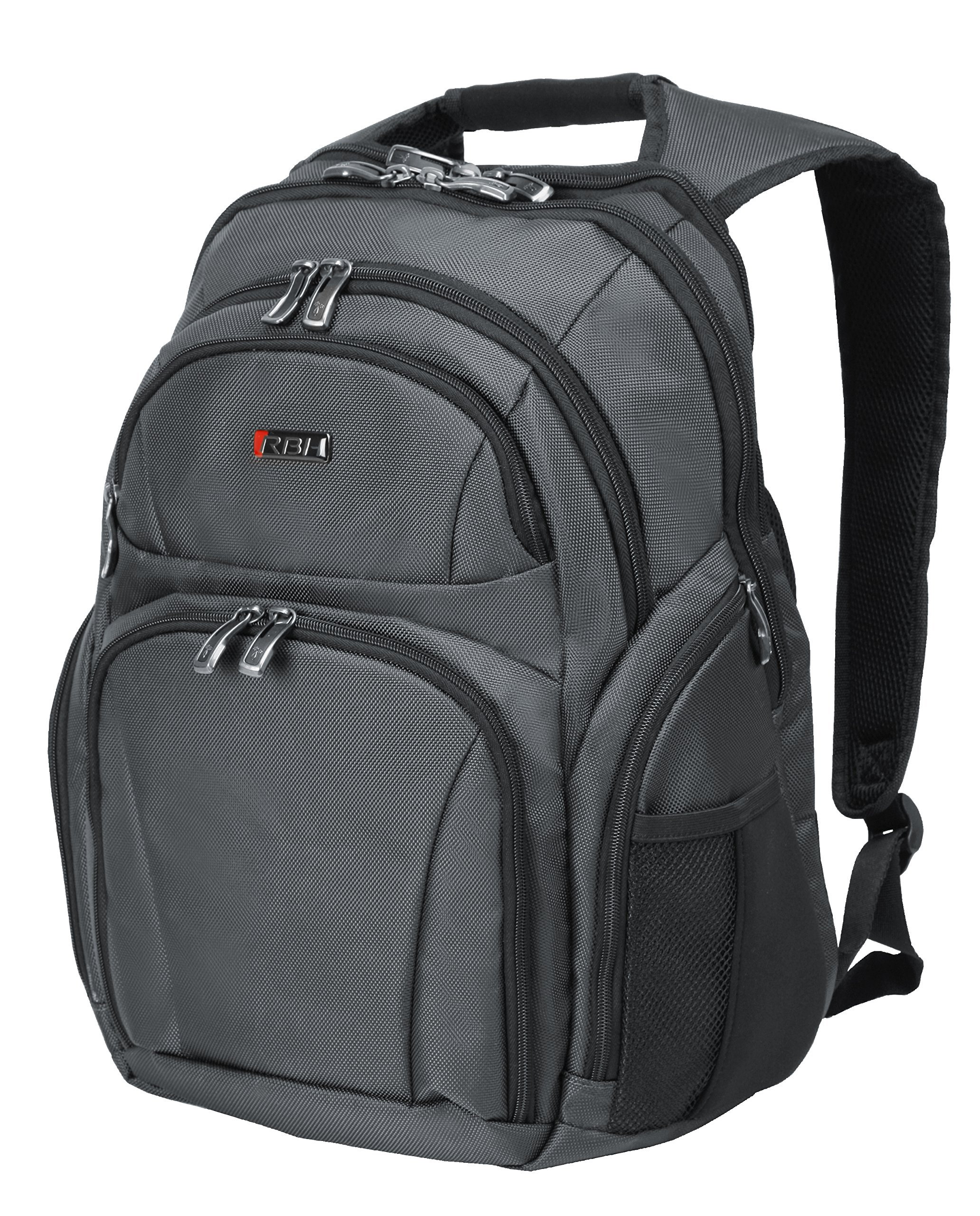 Ricardo Beverly Hills Bel Aire 18-Inch Business Backpack, Charcoal, One Size