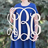 SALE 12-36 inch Wooden Monogram Letters Vine Room Decor Nursery Decor Wooden Monogram Wall Art Large Wood monogram wall hanging wood LARGE
