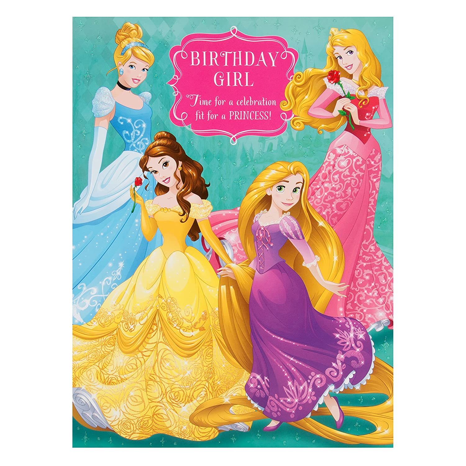 Hallmark Disney Princess Birthday Card Fairy Tale