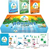 AGO Phonics Card Game (3 Level Box Set). Build Reading Skills, Learn Words and Phonics Sounds - All While Playing a Fun…