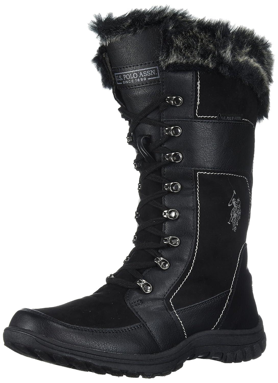 U.S. Fashion Polo Assn. Women's Valley Fashion U.S. Boot B072R5G186 10 B(M) US|Black f41819