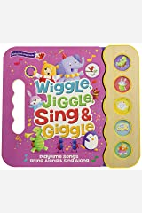 Wiggle, Jiggle, Sing & Giggle: 5 Button Children's Sound Book (Early Bird Sound Books) (Early Bird Song Books 5 Button) Board book