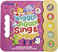 Wiggle, Jiggle, Sing & Giggle: 5 Button Children's Sound Book (Early Bird Sound Books) (Early Bird Song Books 5 Button)