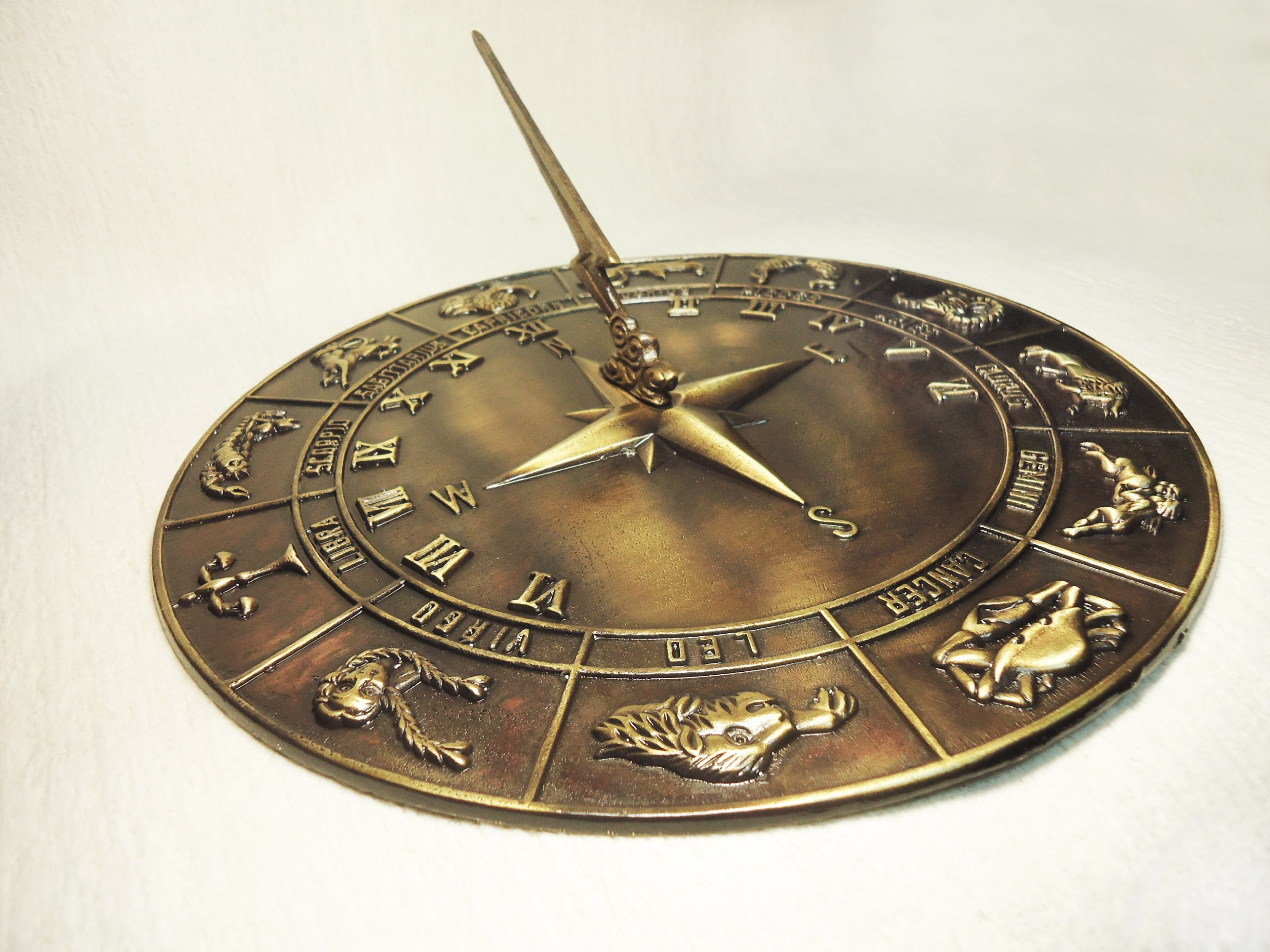 Brass Constellations Sundial - 12'' inches wide by Taiwan (Image #4)