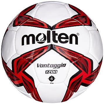 MOLTEN 1700 Series - Balón de fútbol de competición, Color Rojo ...