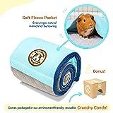 GuineaDad Fleece Liner | Guinea Pig Fleece Cage