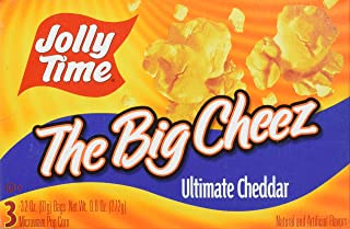 product image for JOLLY TIME JOLLY TIME The Big Cheez Cheddar Cheese Microwave Popcorn (3-Count Box), 9.6 ounce
