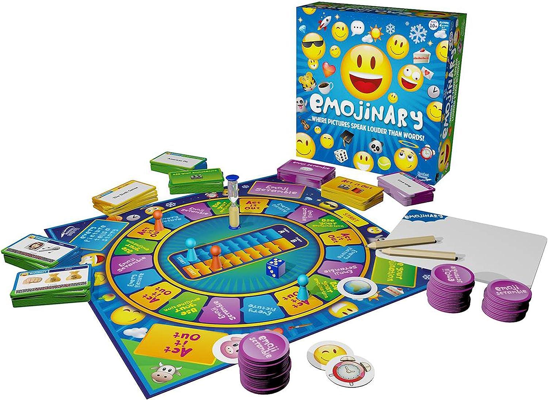 Rocket Games Juego de Mesa Emojinary: Amazon.es: Juguetes y juegos