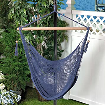 Beau Amazon.com : Bliss Hammocks BHC 412NT Island Rope Hammock Chair : Garden U0026  Outdoor