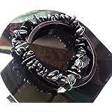 Bracelet en Onyx Noir Lithothérapie Bijoux Minéral en Pierre Naturelle pour Femme