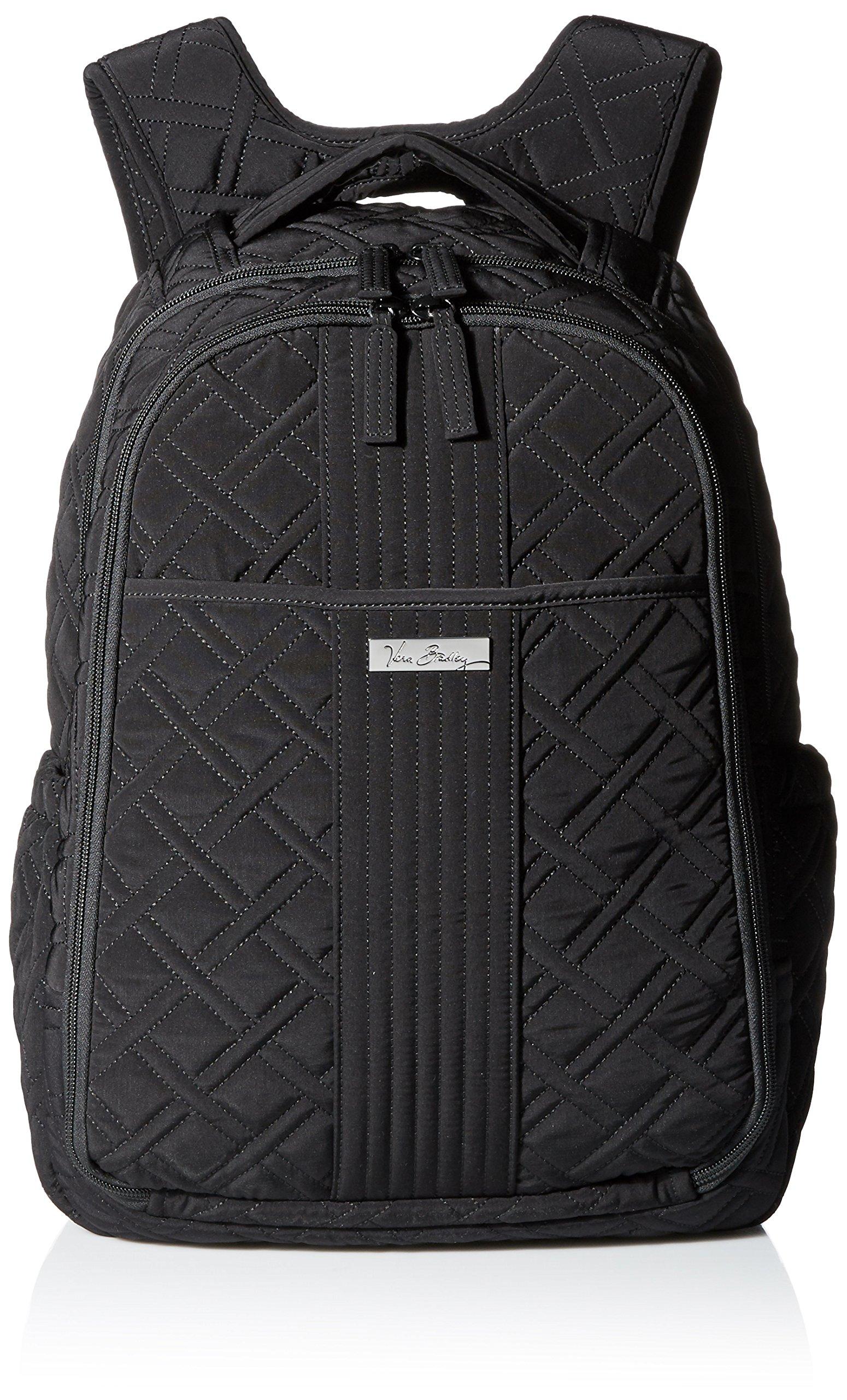Vera Bradley Baby Backpack, Classic Black, One Size