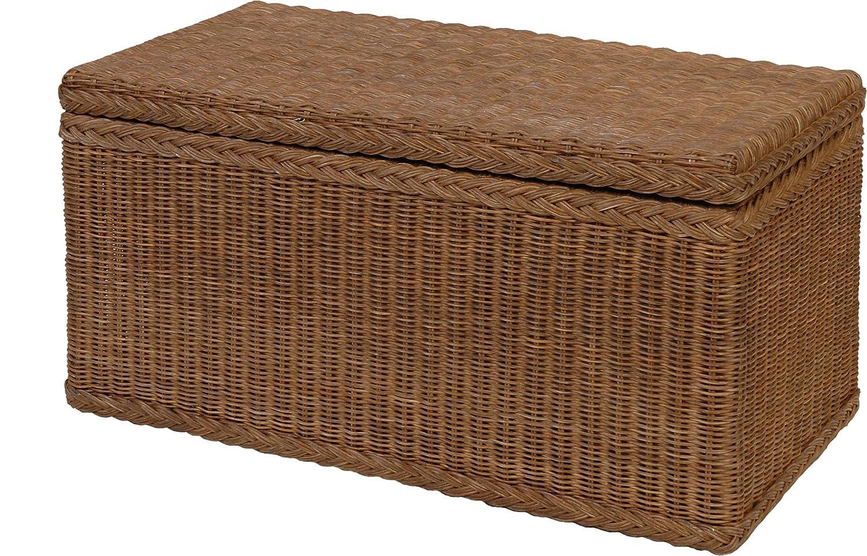 Korb.outlet Truhe Wäschetruhe aus Rattan Rattan Rattan in der Farbe Braun DE 67e9bd