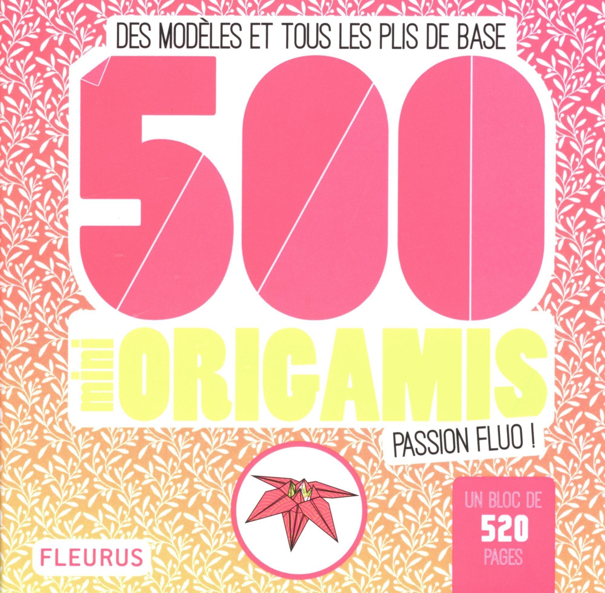 Amazon.fr - 500 mini origamis passion fluo ! : Des modèles et tous les plis  de base - Caroline Soulères - Livres