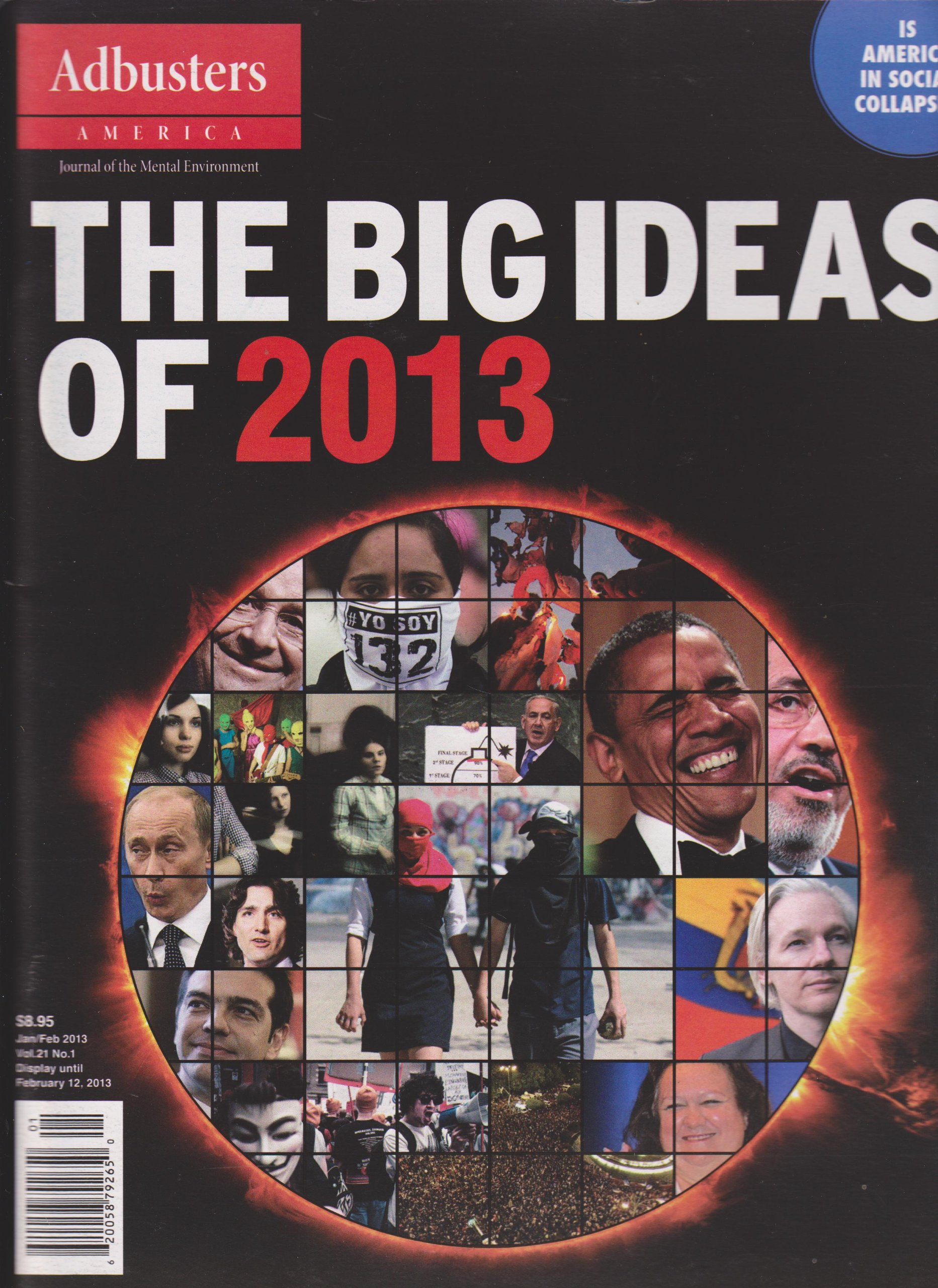 Adbusters America Magazine January/February 2013 (The Big Ideas of 2013), Various