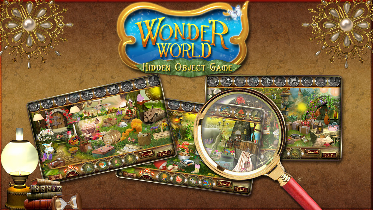 Amazon Com Wonder World Find Hidden Objects Game Download