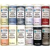 Martha Stewart Crafts Vintage Matte Chalk Decor Paint Set (8-Ounce), PROMO867 (12 Color)