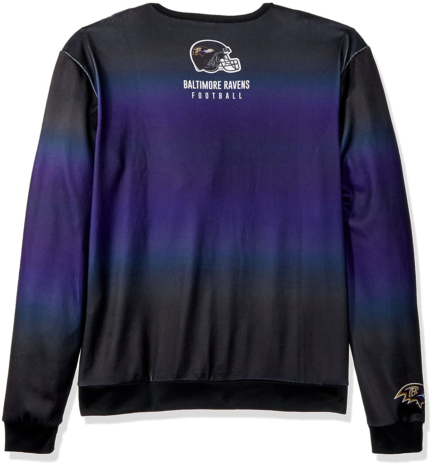 f1ca8079d Amazon.com   Baltimore Ravens Printed Gradient Crew Neck Sweater - Mens  Extra Large   Sports   Outdoors