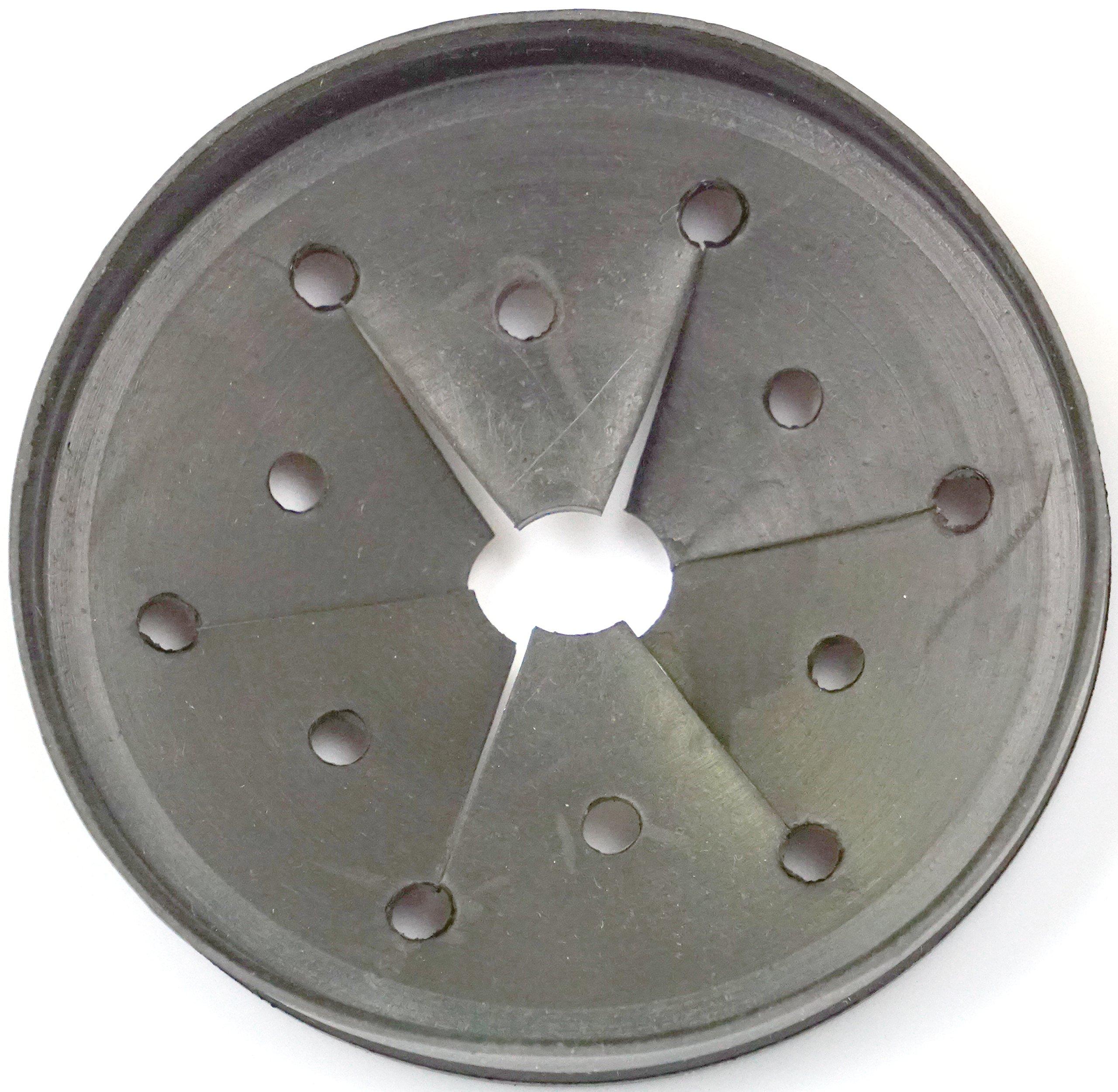 LASCO 39-9015 Replacement Rubber Snap on Splashguard for InSinkErator Garbage Disposal