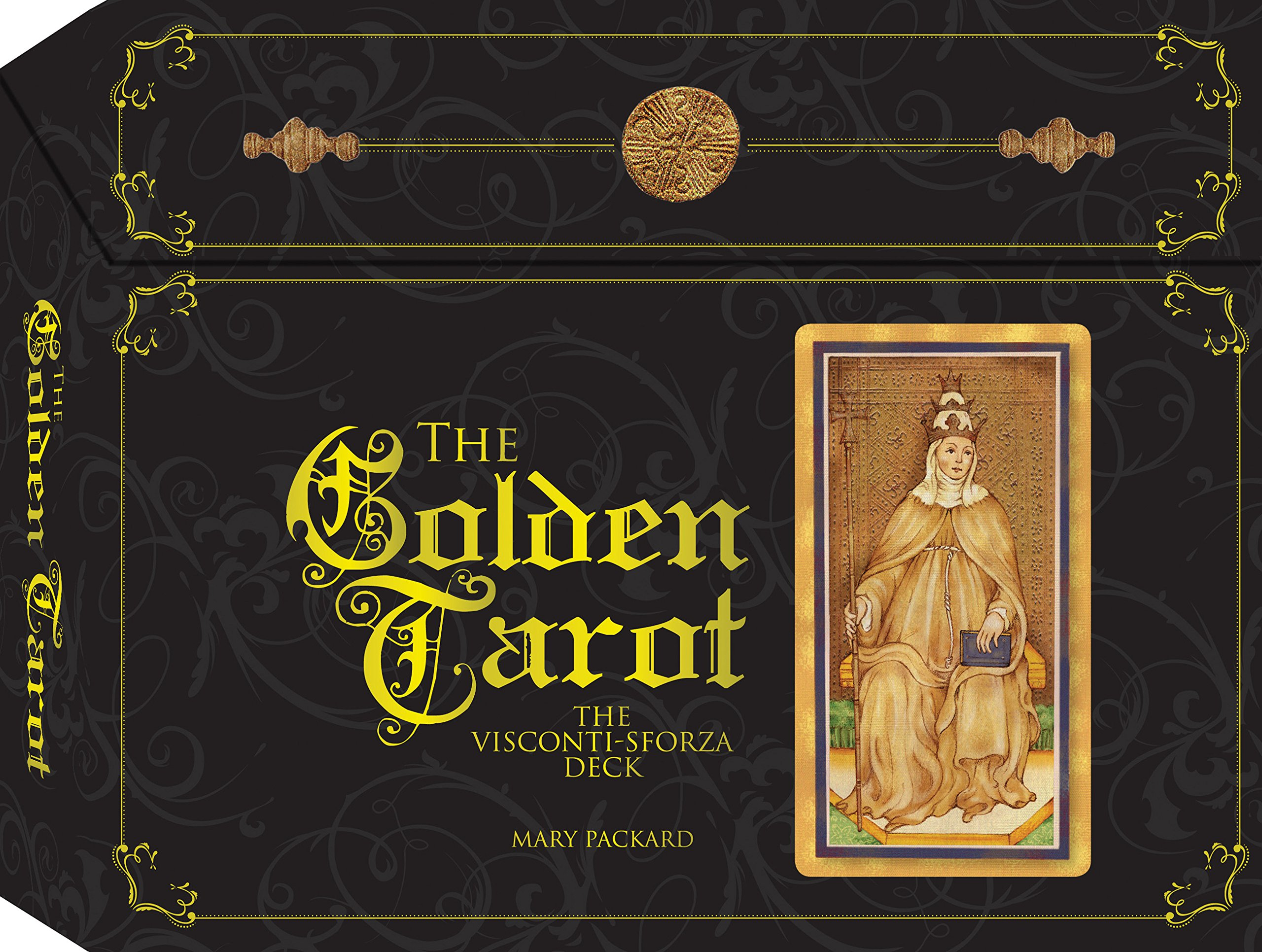 The Golden Tarot of Visconti: Sforza Deck: Amazon.es: Mary ...