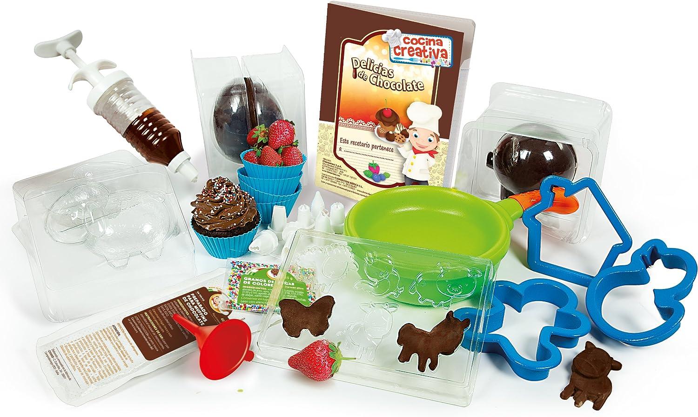 Clementoni - Cocina Creativa, Creaciones de Chocolate (65565): Amazon.es: Juguetes y juegos