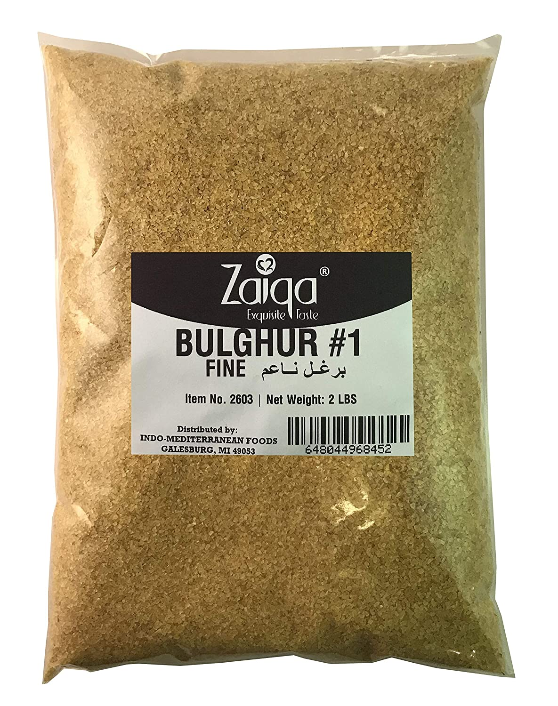 Bulgur Wheat #1   Easy to Prepare, Delicious to Taste, 100% Whole Wheat Goodness   Good for Nutritious Quick Side Dishes, Pilafs & Soups   Also a Rice Alternative - 2 LBS (No. 1 - Fine Grain)