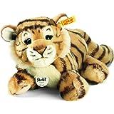 Steiff 066269 - Radjah Baby Schlenker Tiger 28 cm liegend