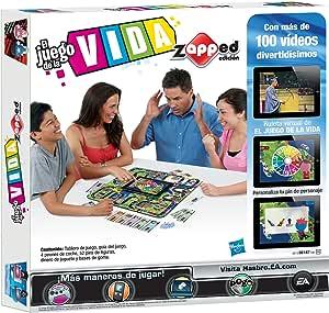 Hasbro Juegos en Familia Juego De La Vida Zapped 38187105: Amazon.es: Juguetes y juegos
