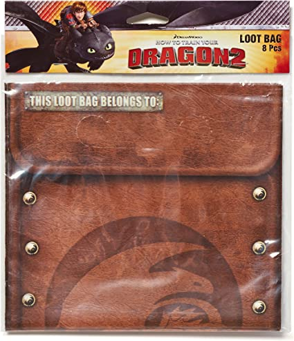 How to Train Your Dragon 2-8 Treat Loot Bags Party Supplies