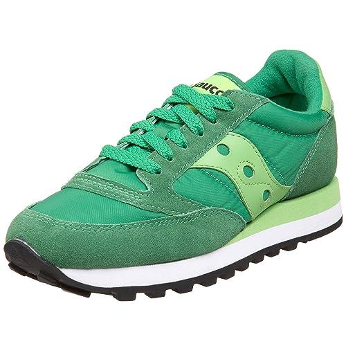 Saucony Zapatos Zapatillas de Deporte Mujer Jazz Original Verde: MainApps: Amazon.es: Zapatos y complementos