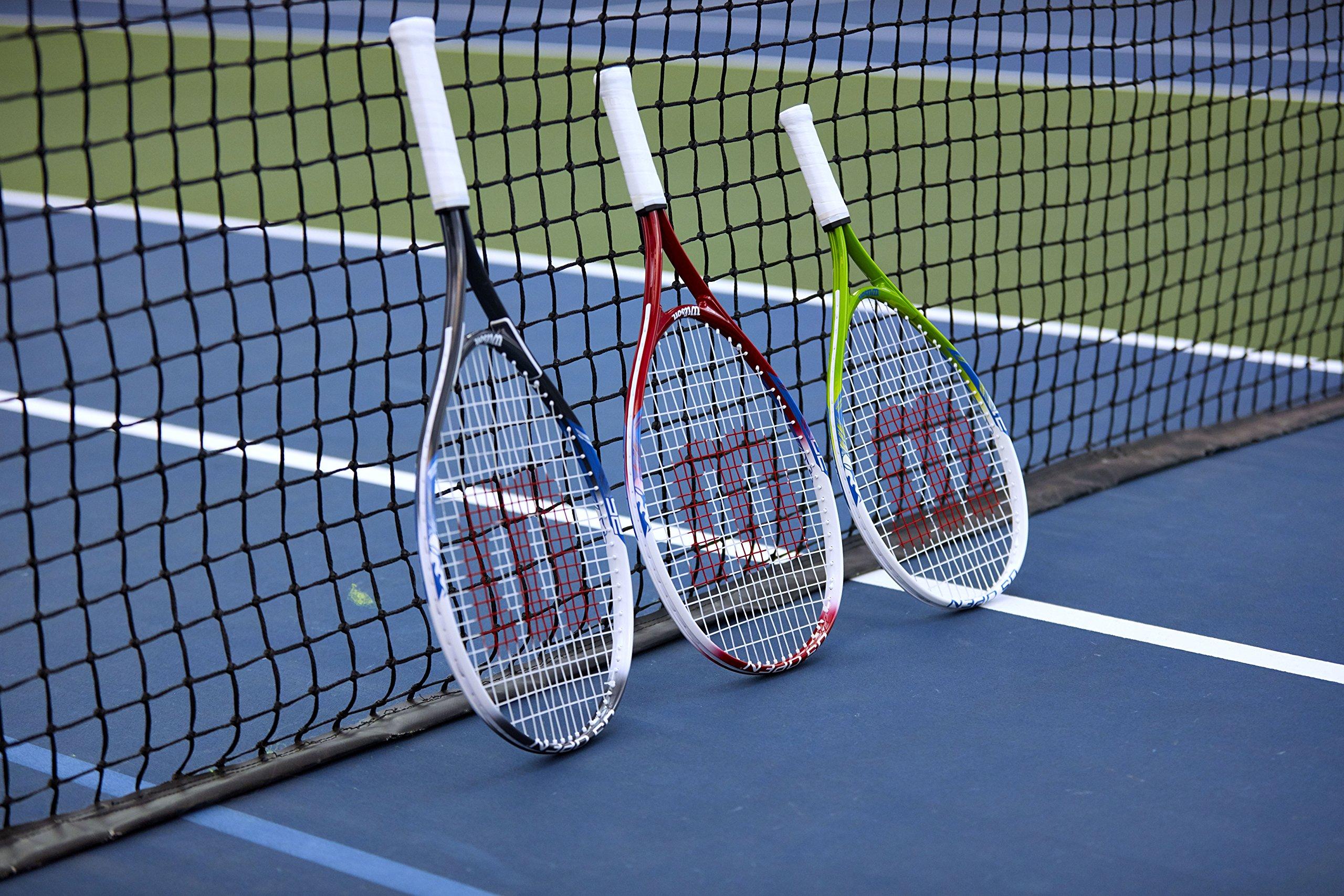 Wilson Junior US Open Tennis Racquet by Wilson (Image #4)