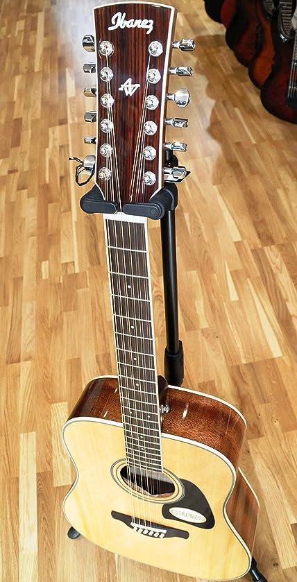 ibanez aw7012 nt-guitare 12 cordes-naturel