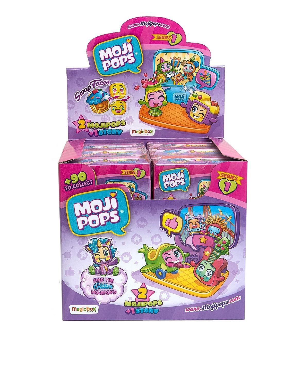 MojiPops Story Box Serie 1 Figure da Collezione Colore Assortito Magic PMP1D612IN00