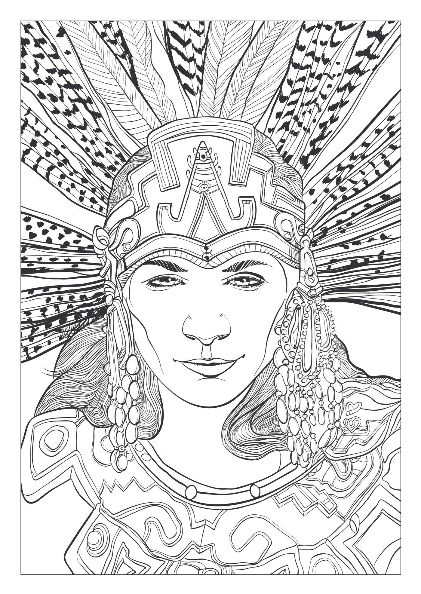 art therapie mayas et aztques 100 coloriages anti stress french edition collectif hachette 9782013968683 amazoncom books