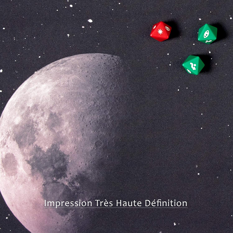 wogamat tapis deep planet 92 x 92 cm