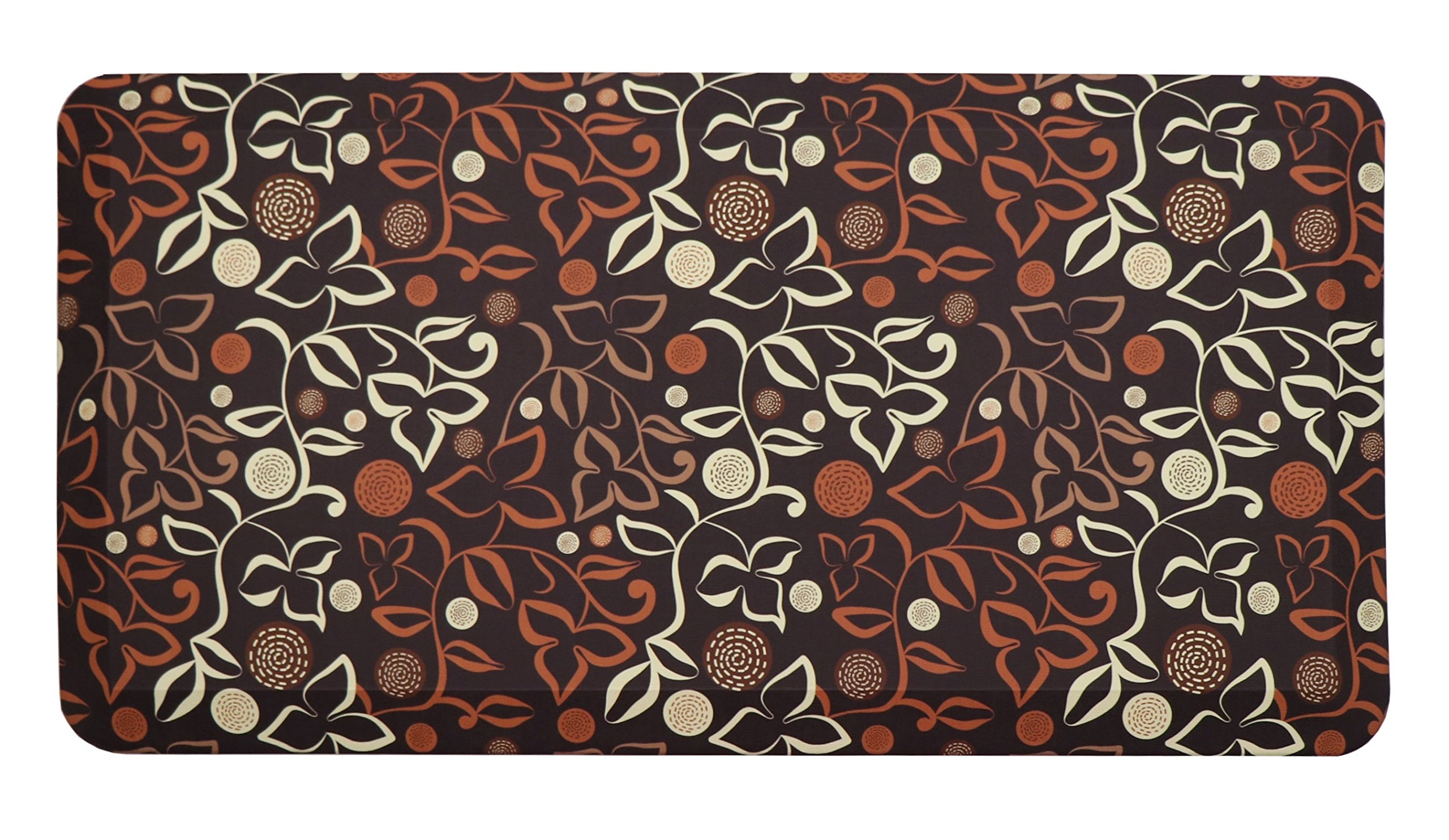Butterfly Kitchen Mat Anti Fatigue Comfort Floor Mats - Perfect For kitchen, Non-Toxic, Highest Quality Material, Waterproof, 20 x 39 inches