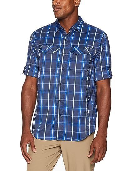 143ef8e4c79 Columbia Men's Silver Ridge Lite Plaid Long Sleeve Shirt, Collegiate Navy  Large Plaid, Large: Amazon.in: Sports, Fitness & Outdoors