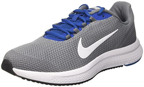 newest collection da347 a5ee9 Nike Runallday, Scarpe da Corsa Uomo, Grigio (Cool White Blue Jay