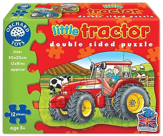 2 opinioni per Orchard Toys- Piccolo trattore, Puzzle doppio